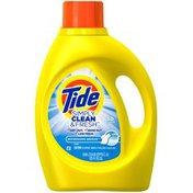 Tide Simply Clean & Fresh HE Liquid Laundry Detergent, Refreshing Breeze Scent, 80 Loads 125 Fl Oz  Laundry