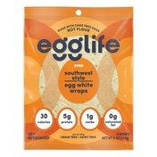 Egglife Foods Egg White Wraps, Southwest Style