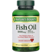 Nature's Bounty Fish Oil Rapid Release Softgels