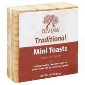 Divina Mini Toast, Traditional