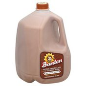 Borden Milk, Lowfat Milk, Dutch Chocolate, 1%