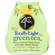 4C Foods Totally Light Green Tea Honey & Natural lemon Flavor Liquid Water Enhancer