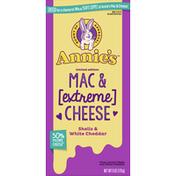 Annie's Mac & Cheese, Extreme, Shells & White Cheddar