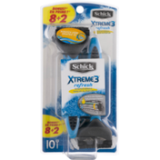 Schick Xtreme3 Refresh Scented Handle Disposable Razors - 10 CT