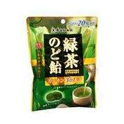 Senjakuame Green Tea Throat Lozenge