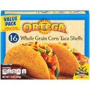 Ortega Whole Grain Corn 16 ct Value Pack Taco Shells