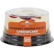 Chuckanut Bay Foods Cranberry Orange Walnut Mini Cheesecake