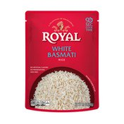 Royal Ready to Heat Microwave Rice White Basamati Flavor