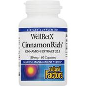 Natural Factors WellBetX, 150 mg, Capsules