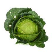 Organic Spring Cabbage