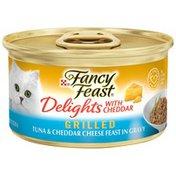 Purina Fancyfeast Grill Tuna Cheddar Cheese Cat Food