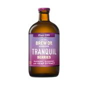 Brew Dr. Kombucha Tranquil Berries 25 Mg Cbd Kombucha With Hemp Extract