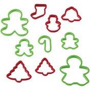 Wilton Holiday Cookie Cutter Set, 10-Piece