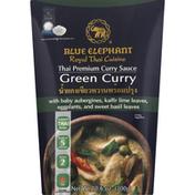 Blue Elephant Curry Sauce, Thai Premium, Green
