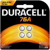 Duracell Specialty Alkaline 76A 4 count Specialty Batteries