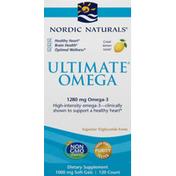 Nordic Naturals Omega, Ultimate, 1000 mg, Soft Gels