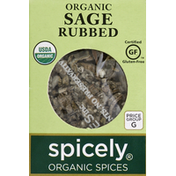 Spicely Organics Sage, Rubbed, Organic