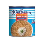 Blue Runner Foods Navy Beans, Creole Cream Style
