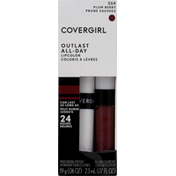 CoverGirl Outlast All-Day Moisturizing Lip Color, Plum Berry