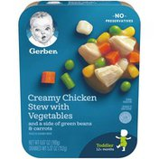 Gerber Creamy Chicken Stew with Vegetables with Green Beans