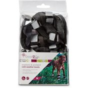 Good2 Go Extra Large Black All Weather Paw Protector Dog Boots