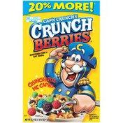 Cap'N Crunch Crunch Berries Cereal   Paper Box