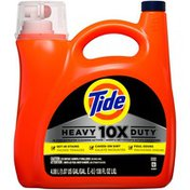 Tide 10x Heavy Duty Liquid Laundry Detergent