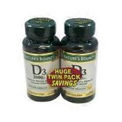 Nature's Bounty D3 2000 Iu Supports Strong Bones & Immune Health*