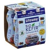 Lifeway BioKefir Cultured Milk, Pomegranate/Blueberry