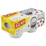 Glad Containers & Lids, Mini Round, 4 Ounce