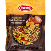 Osem Heat & Serve Israeli (Pearl) Couscous With Vegetables