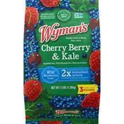 Wyman's Cherry Berry with Kale Frozen Fruit