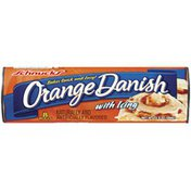 Schnucks Orange Danish W/Icing Rolls