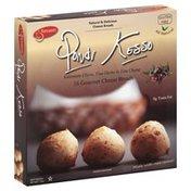 Pondi Kesso Cheese Breads, Gourmet, Kalamata Olives, Fine Herbs & Feta Cheese