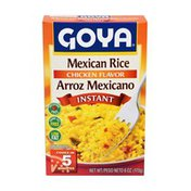 Goya Instant Mexican Rice, Chicken-Flavored