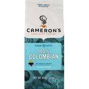 Camerons Coffee, Ground, Medium Roast, 100% Colombian
