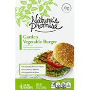 Nature's Promise Burger, Garden Vegetable