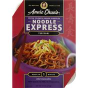Annie Chuns Ramen Noodles, Fresh Cooked, Teriyaki