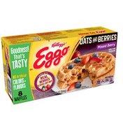 Eggo Oats and Berries,Frozen Waffles, Mixed Berry