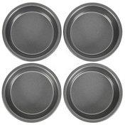 Wilton 4-Inch Mini Round Cake Pans Set, 4-Piece