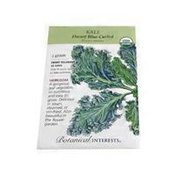 Botanical Interests Organic Dwarf Blue Curled Kale Seeds