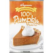Wegmans 100% Pumpkin, Solid Pack