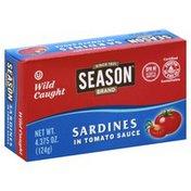 Season Sardines, in Tomato Sauce