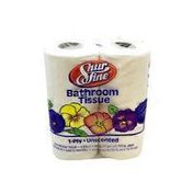 Shurfine White Bath Tissue