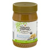 Nature's Promise Peanut Butter, Smooth/Unsalted, Organic