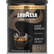 Lavazza Coffee, Ground, Medium, Caffe Espresso