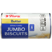 Tops Butter Flavored Jumbo Biscuits