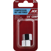 Ace Bakery Compression Nut and Rings, 2 Pack
