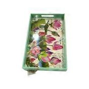 Michel Water Lilies Wooden Tray