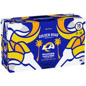 Golden Road Brewing Whose House Blonde Ale Beer Cans